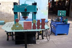 HM-150T Paver Block Making Machine
