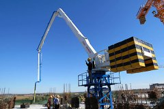 <b>Self-climbing Hydraulic Concrete Placing Boom</b>