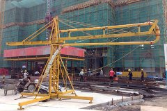Manual Concrete Placing Boom