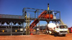 YHZS75 Mobile Batching Plant in Guinea