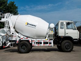 2 Sets Of 6m3 Concrete Mixer Truck Were Delivered To South East Asia